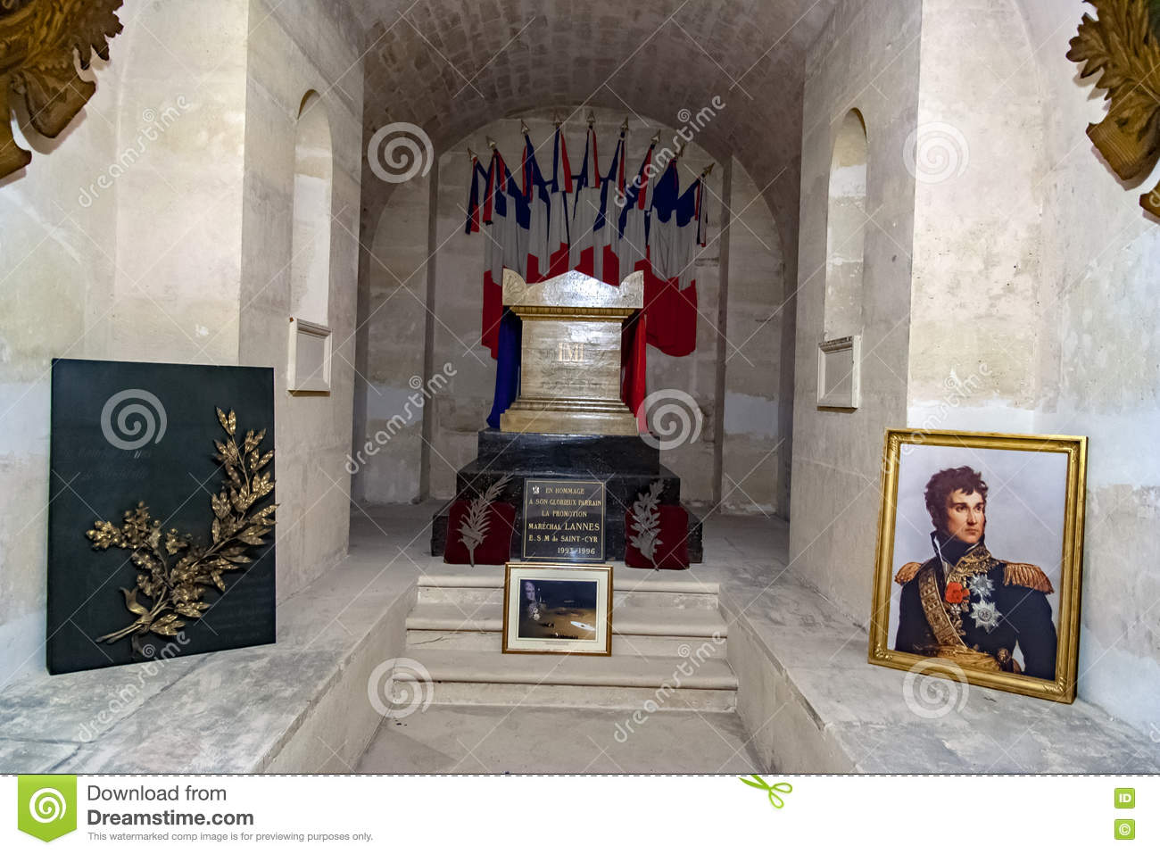 PARIS, FRANCE, APRIL 23, 2016, Pantheon Of Marshal Lannes