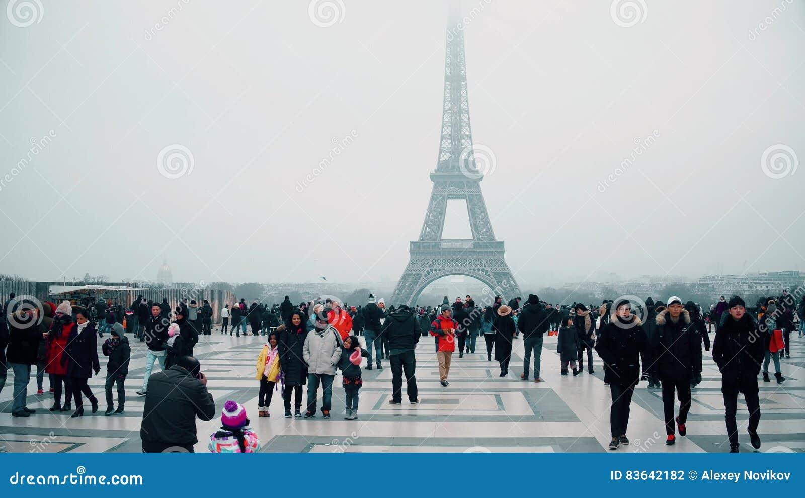 Paris france in december