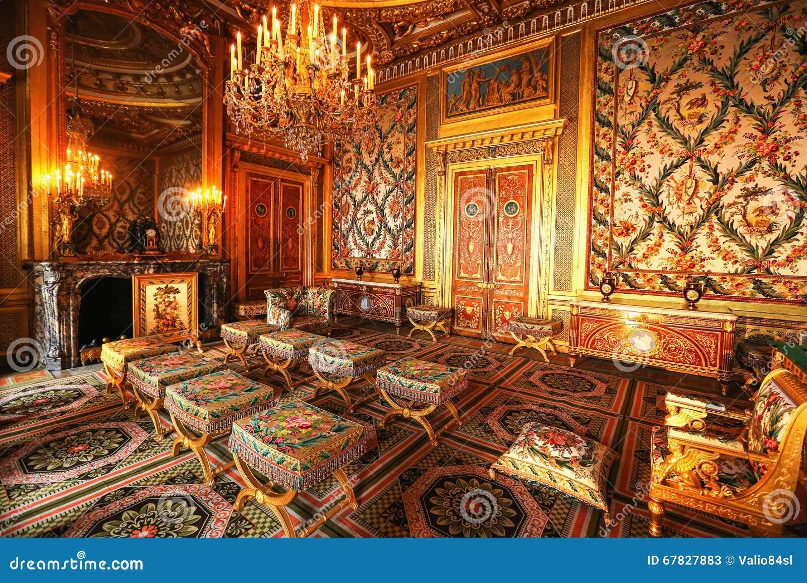 Paris, France, Intérieur De Palais De Versailles