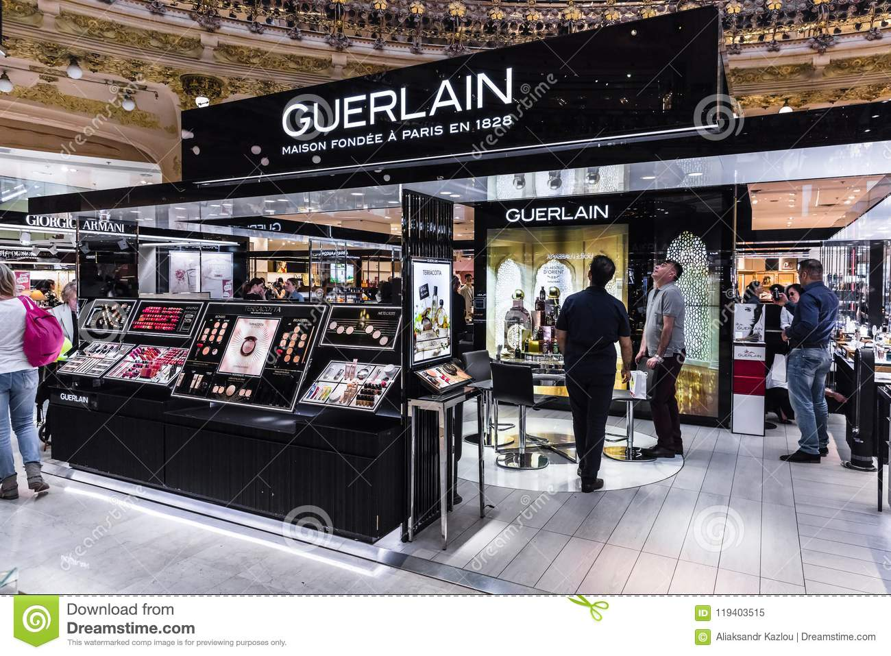 In People Section Galeries Lafayette Shop Guerlain The trdshQC