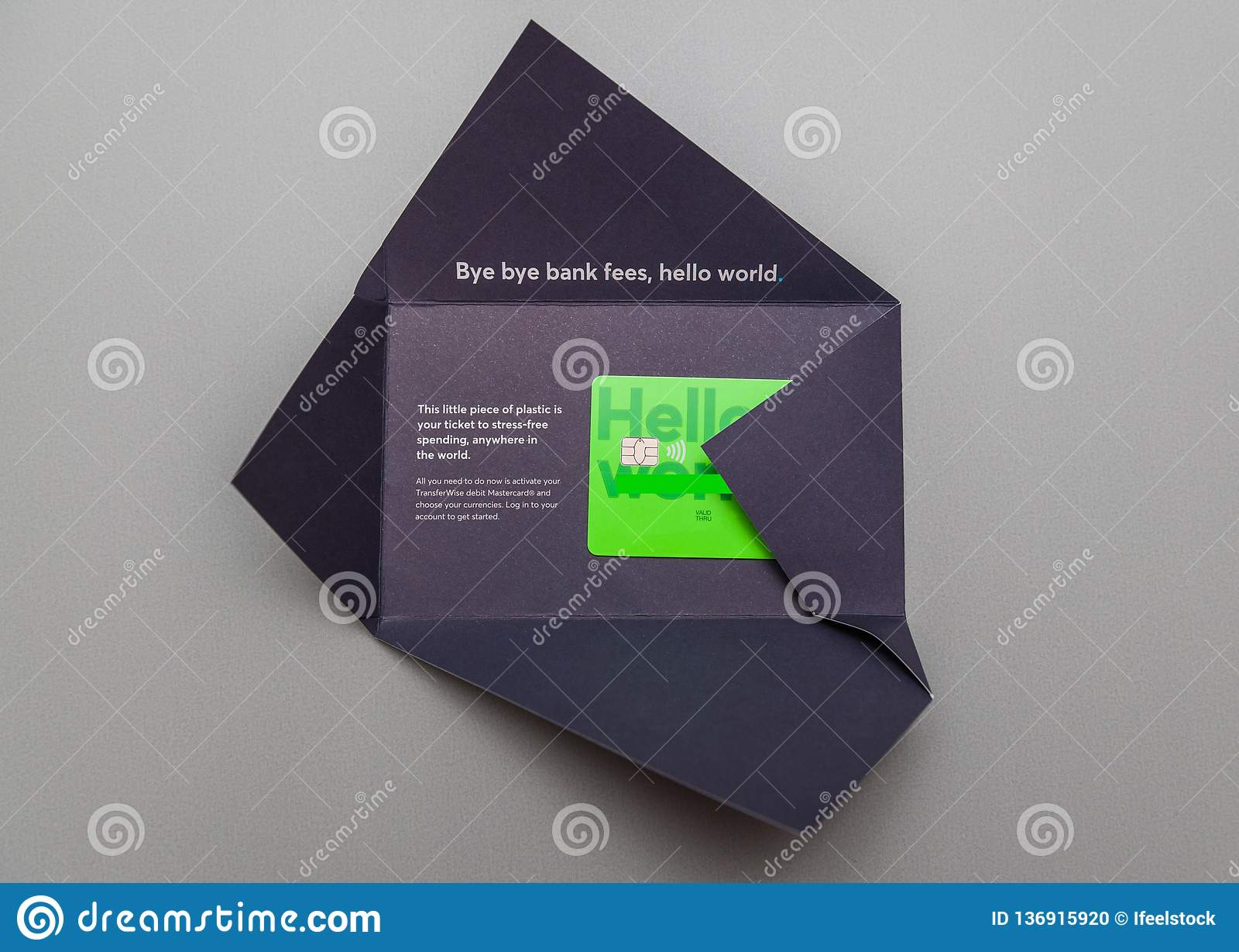 Presentation New TransferWise Mastercard Banking Card