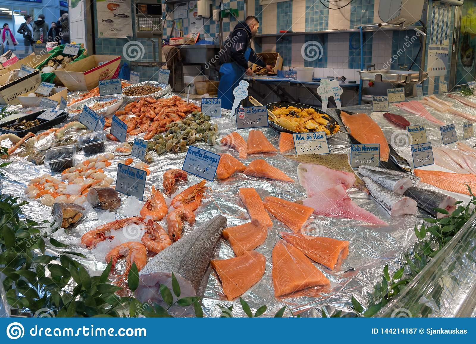 Fresh Fish And Seafood Store In ...