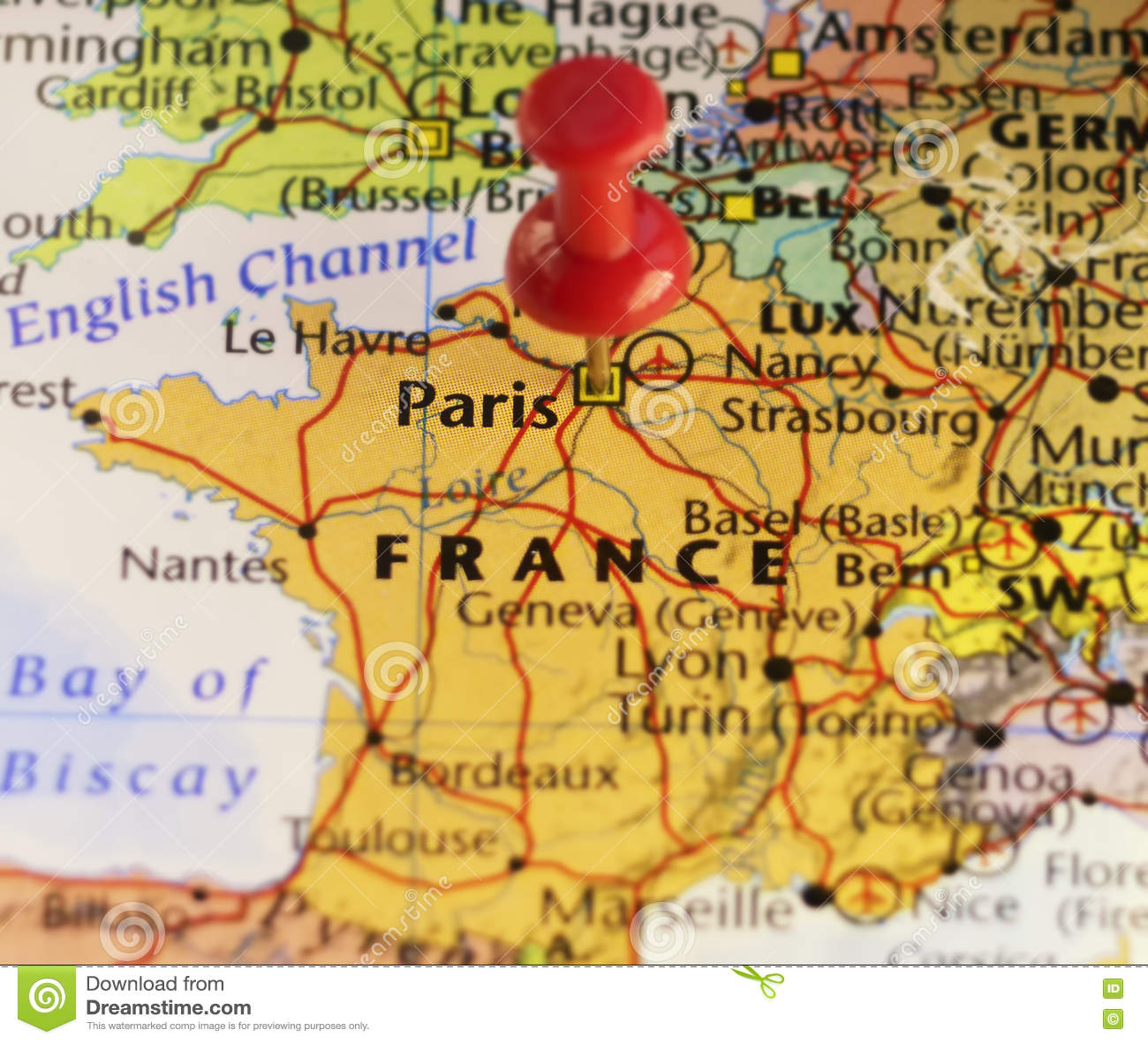 Paris France, World Capitol Of Fashion. Stock Illustration ...