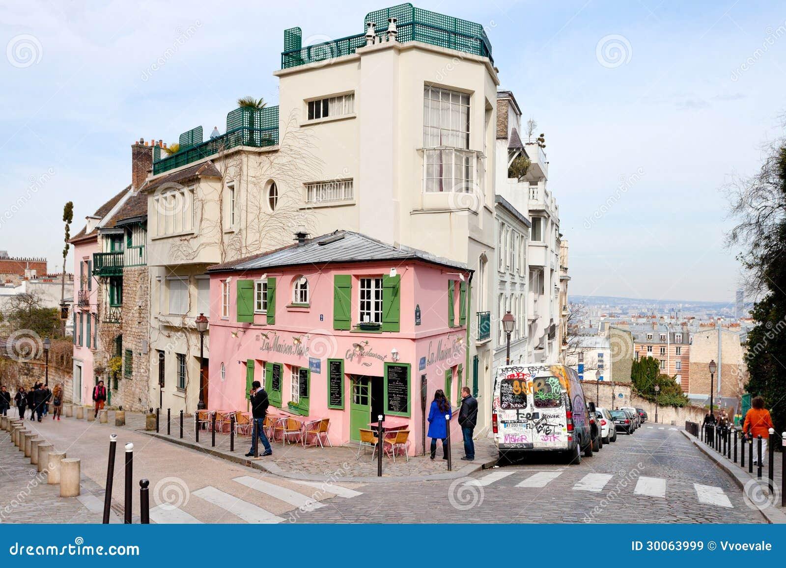 La Amison Rose Restaurant Paris