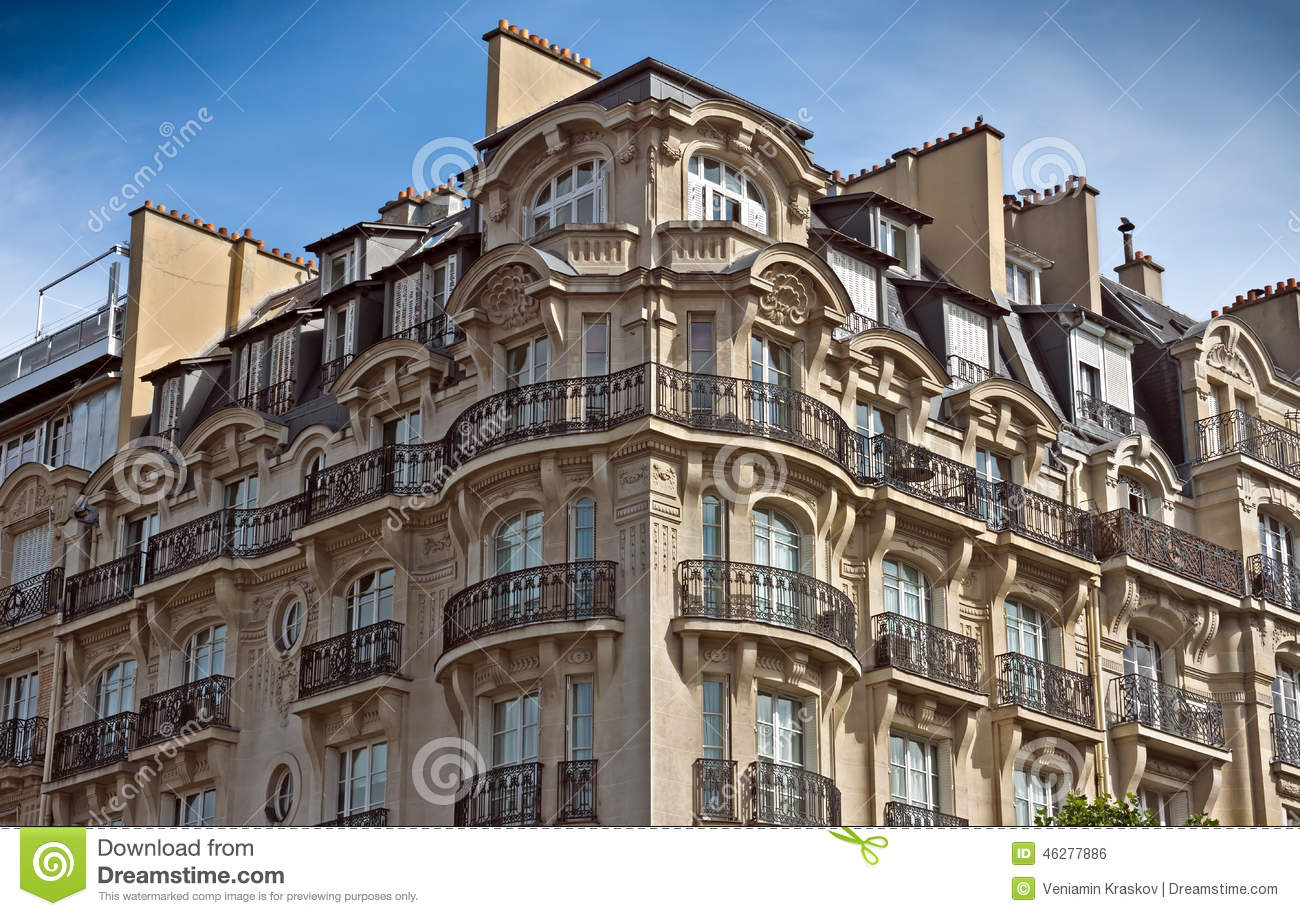 paris french architecture editorial photo image 46277886