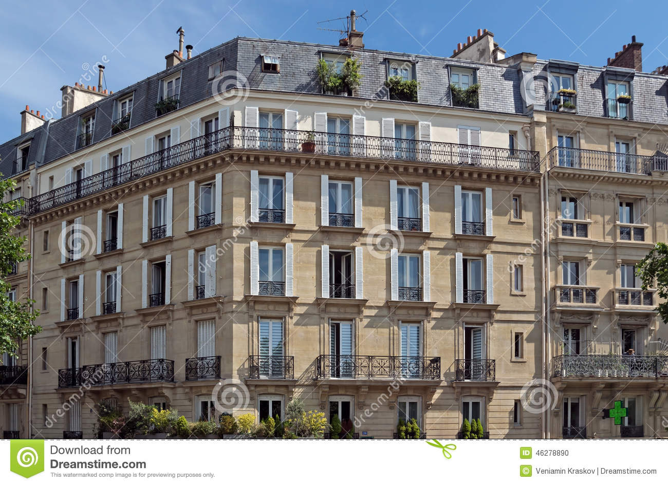 paris french architecture editorial image image of culture