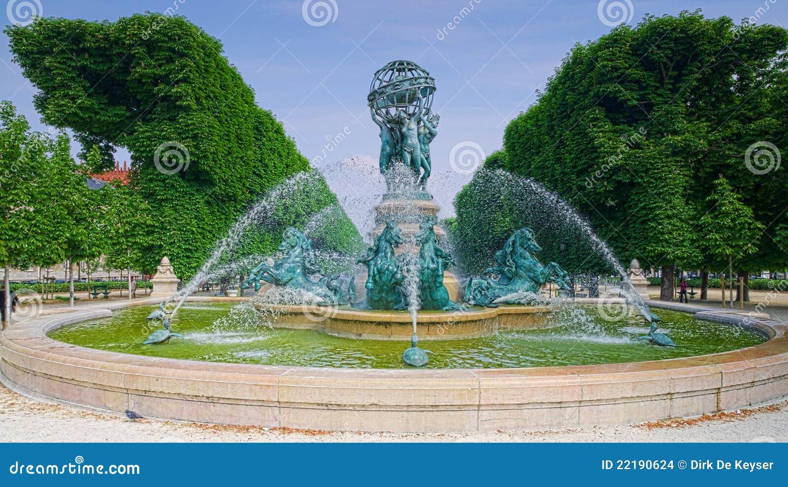 Paris jardin du luxembourg images stock image 22190624 for Buvette des marionnettes du jardin du luxembourg