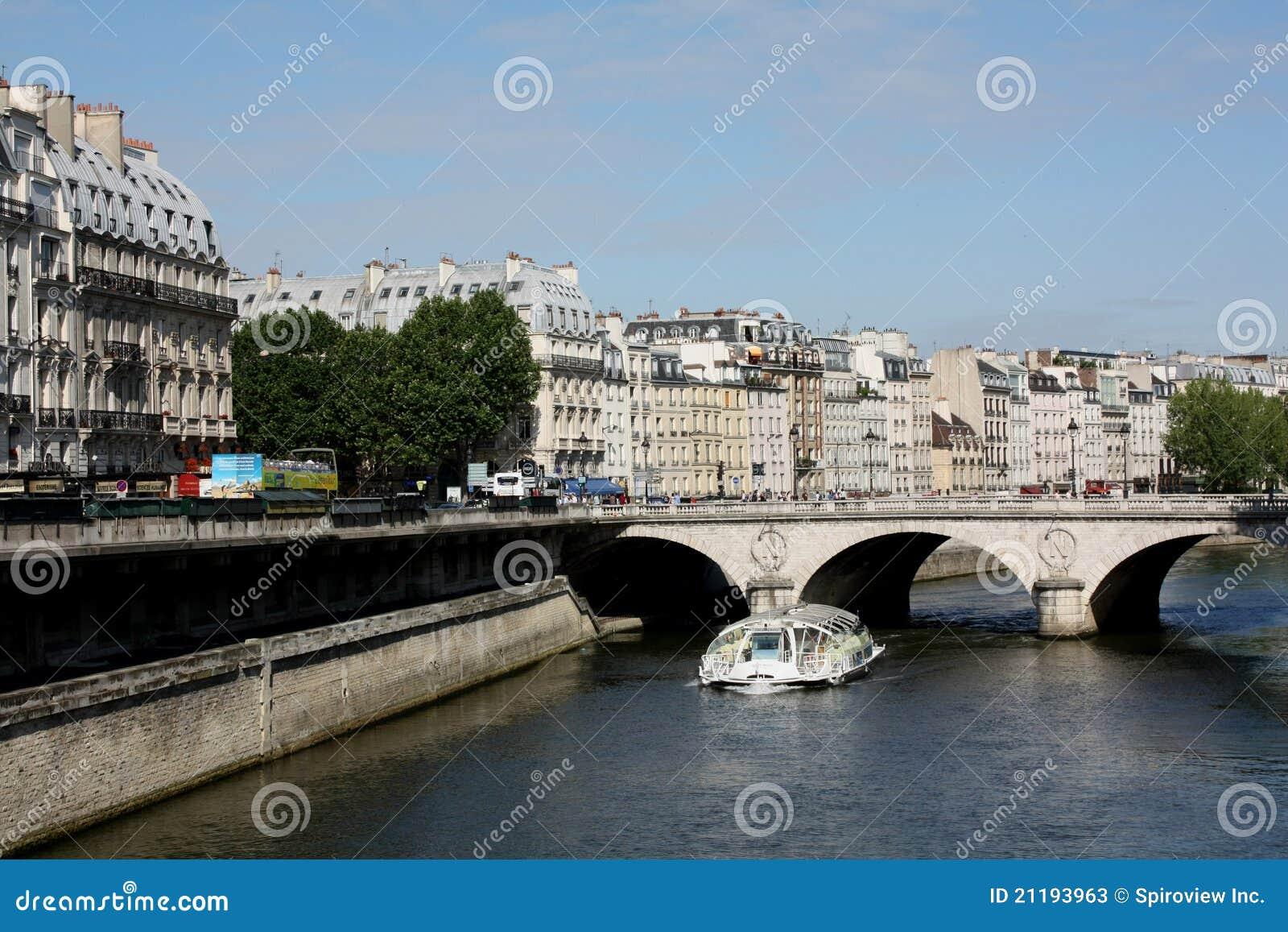 Paris, Left Bank of the Seine