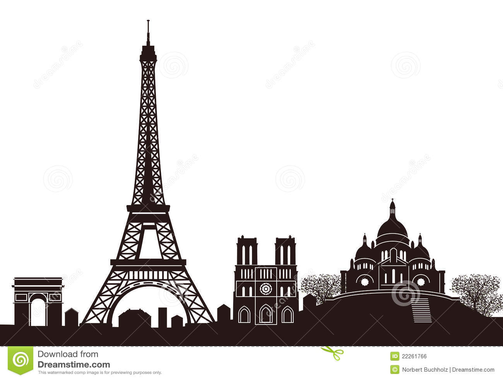 Paris linia horyzontu