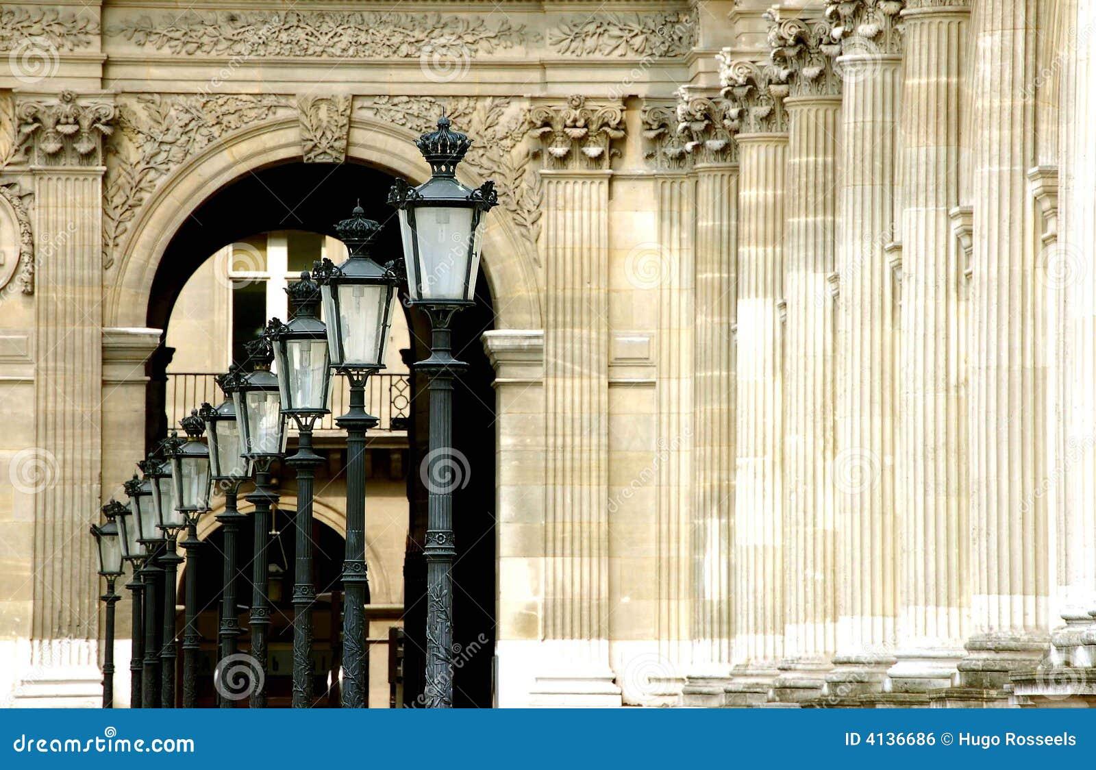Paris-Luftschlitz-Laternen