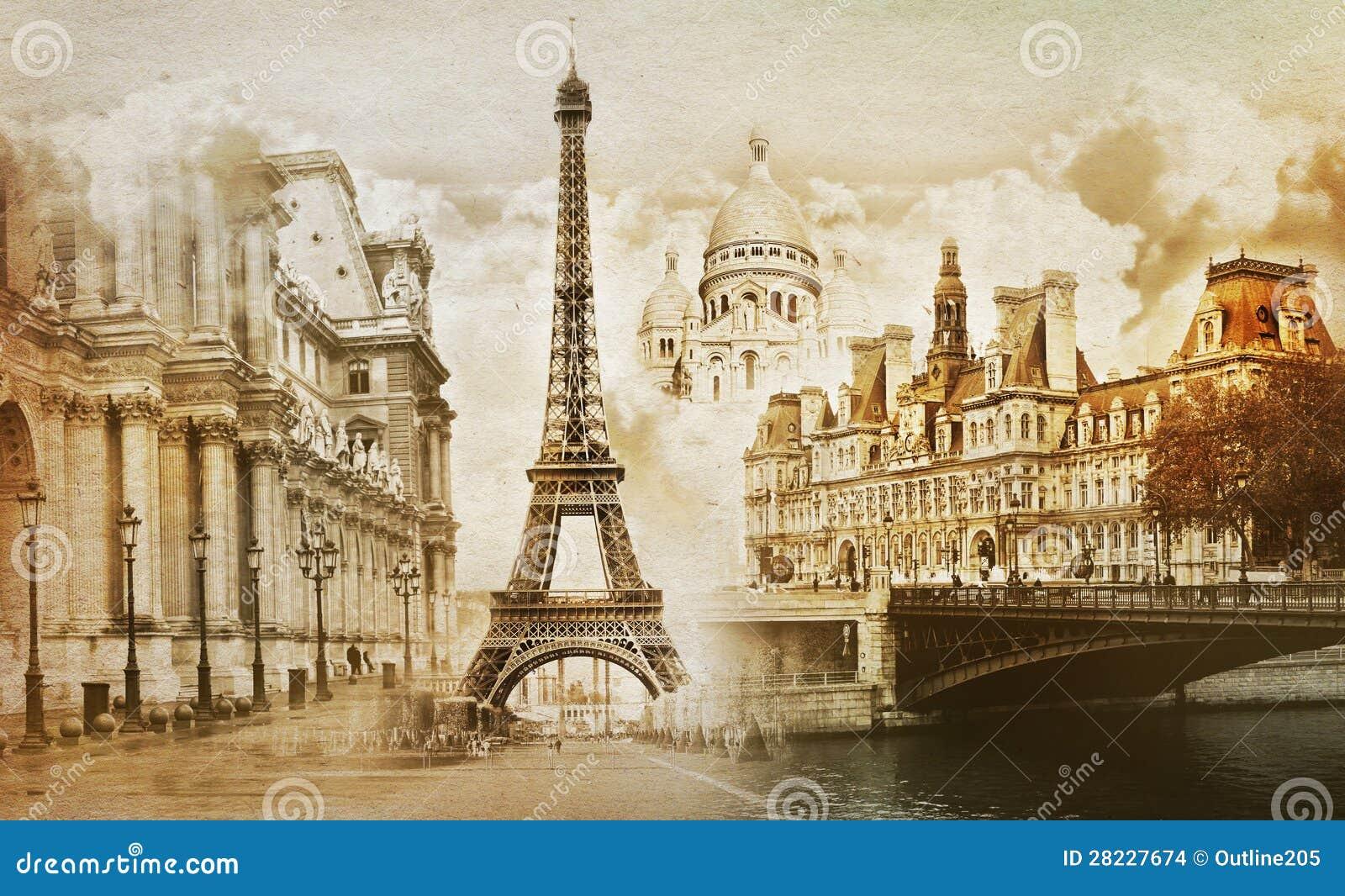Paris minnen