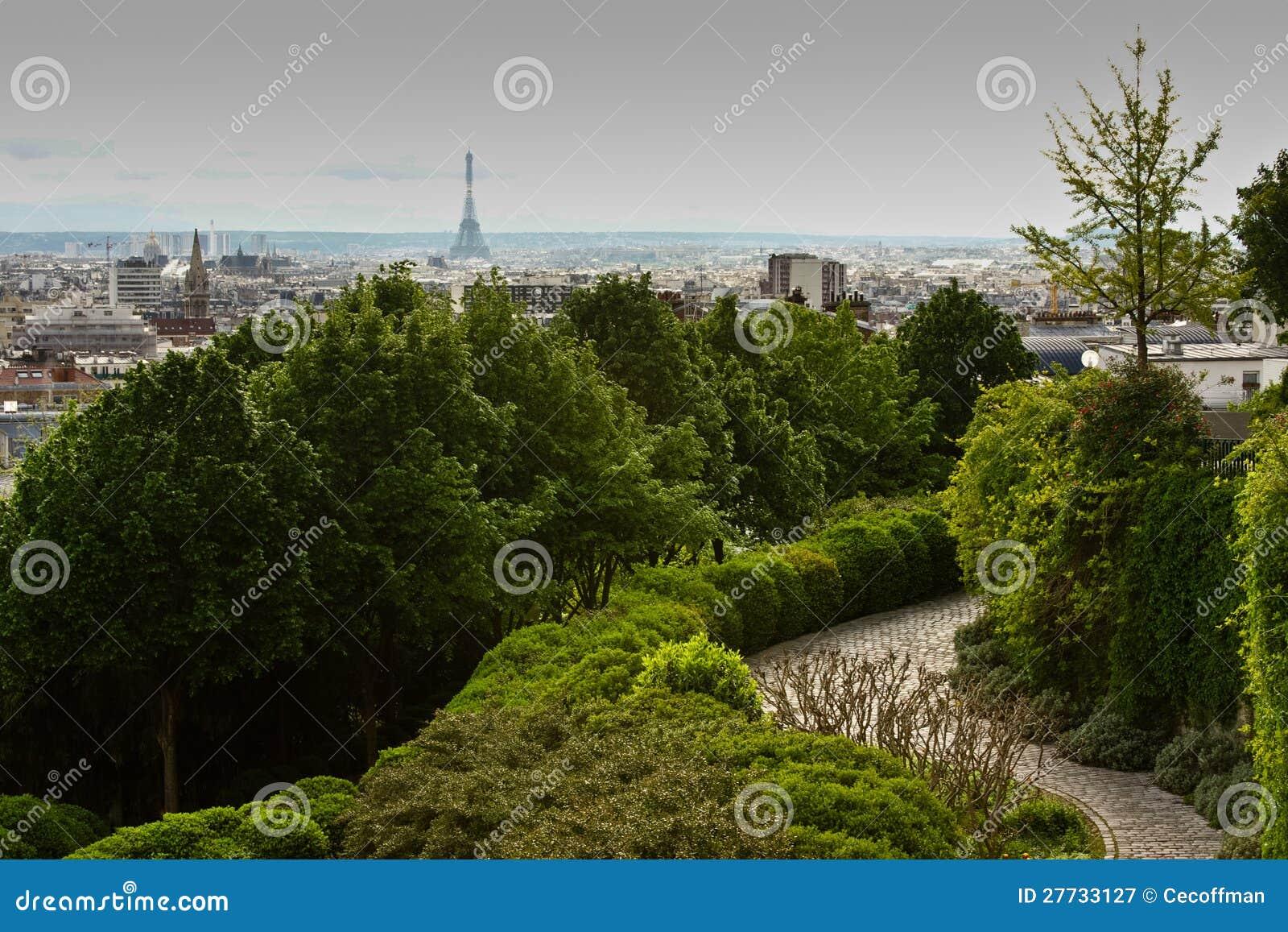 Paris Parc de Belleville