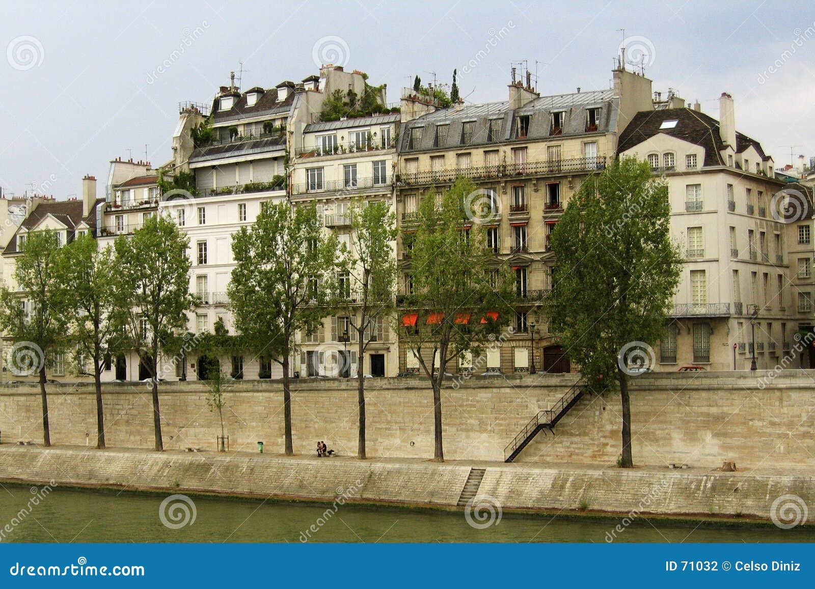 Seine River em Paris