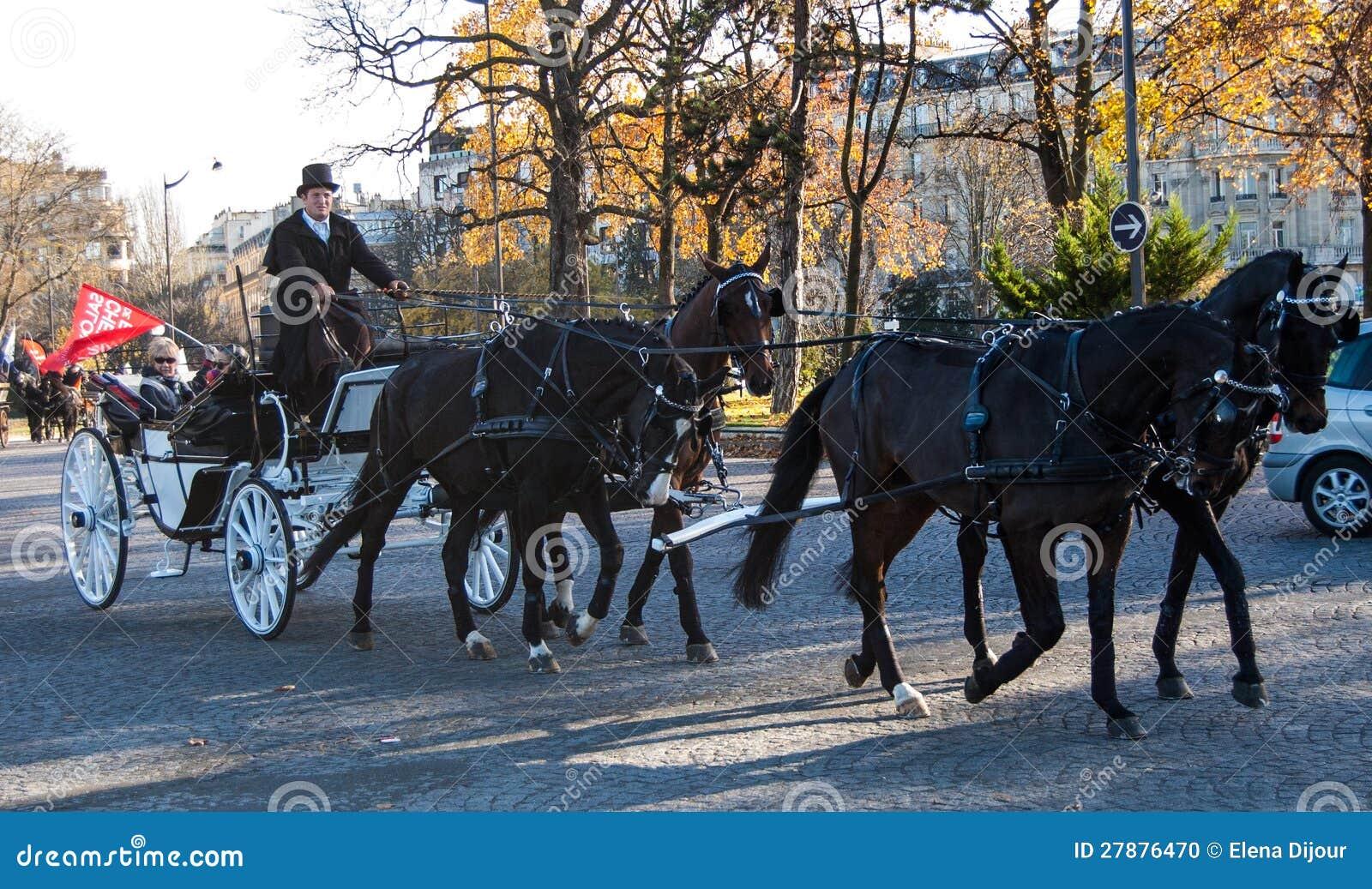 Paris-Pferdenparade