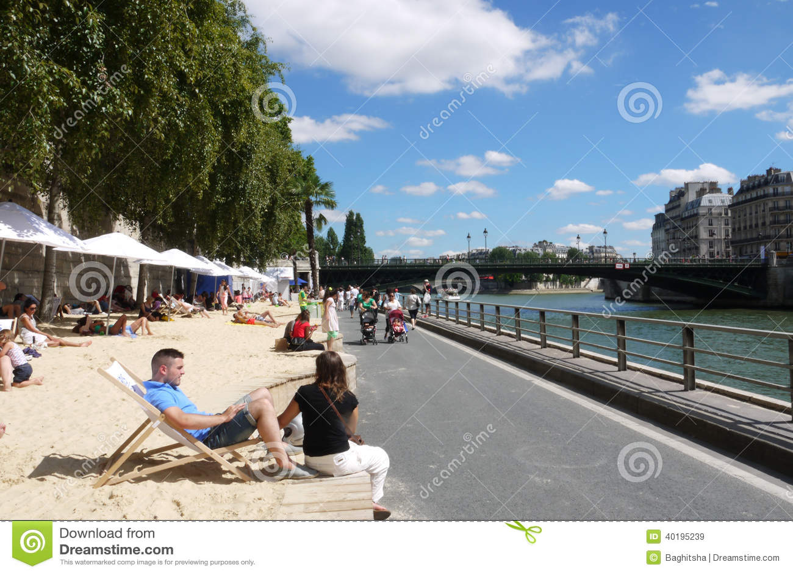 Paris Plages Beaches