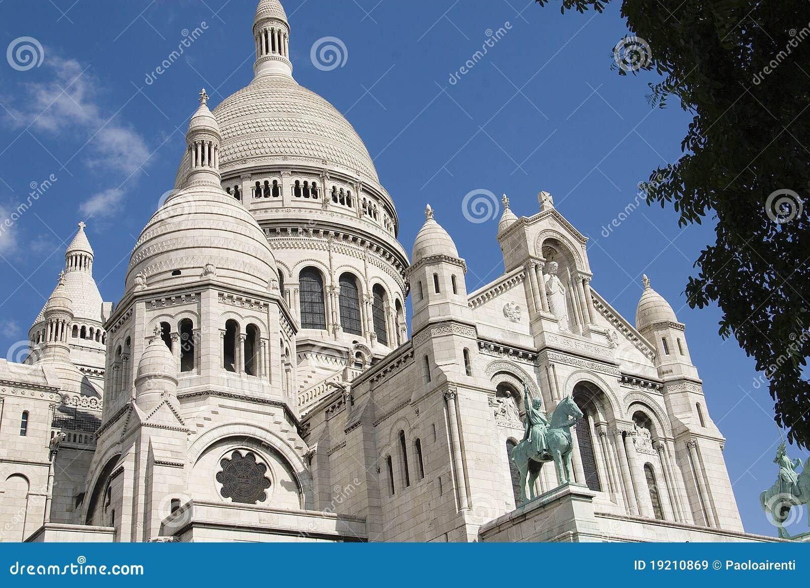 Paris Sacre Coeur Montmartre Stock Image Image Of City