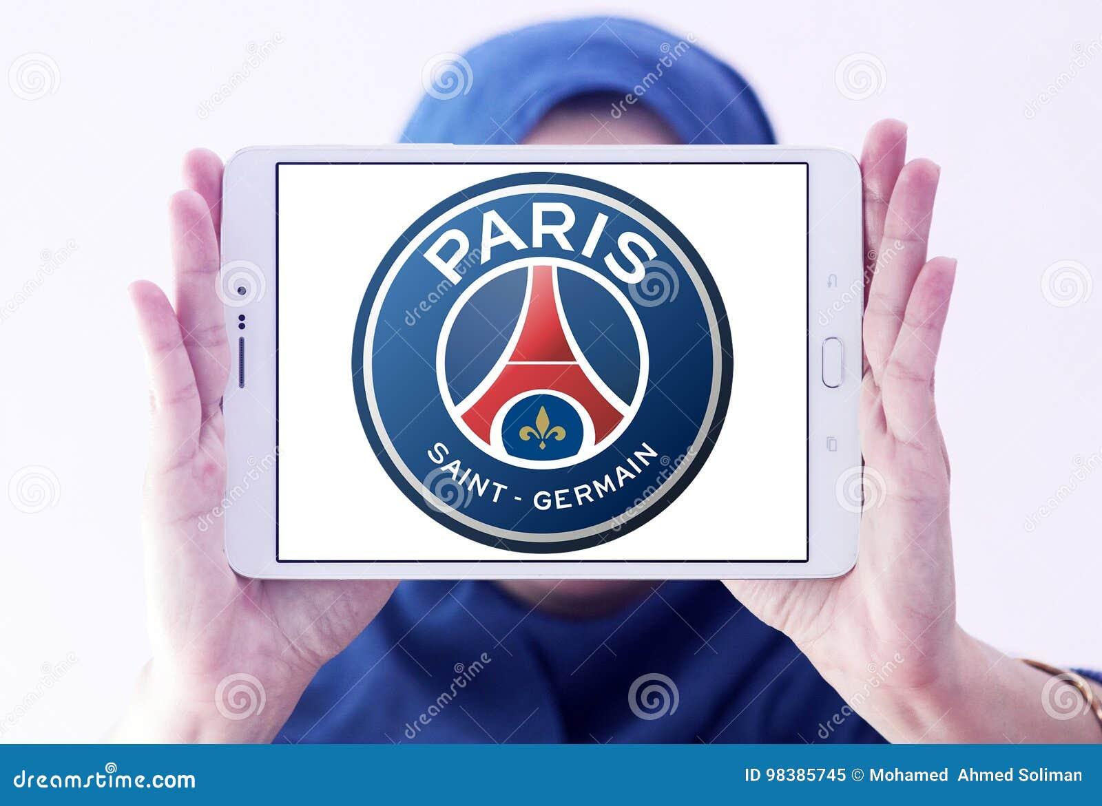 Paris Saint Germain Psg Football Club Logo Editorial Image Image Of Icons Brands 98385745