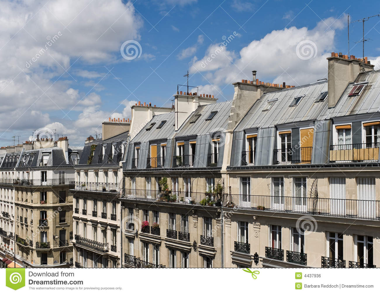 Paris Street Scene Latin Quarter Stock Photo Image Of
