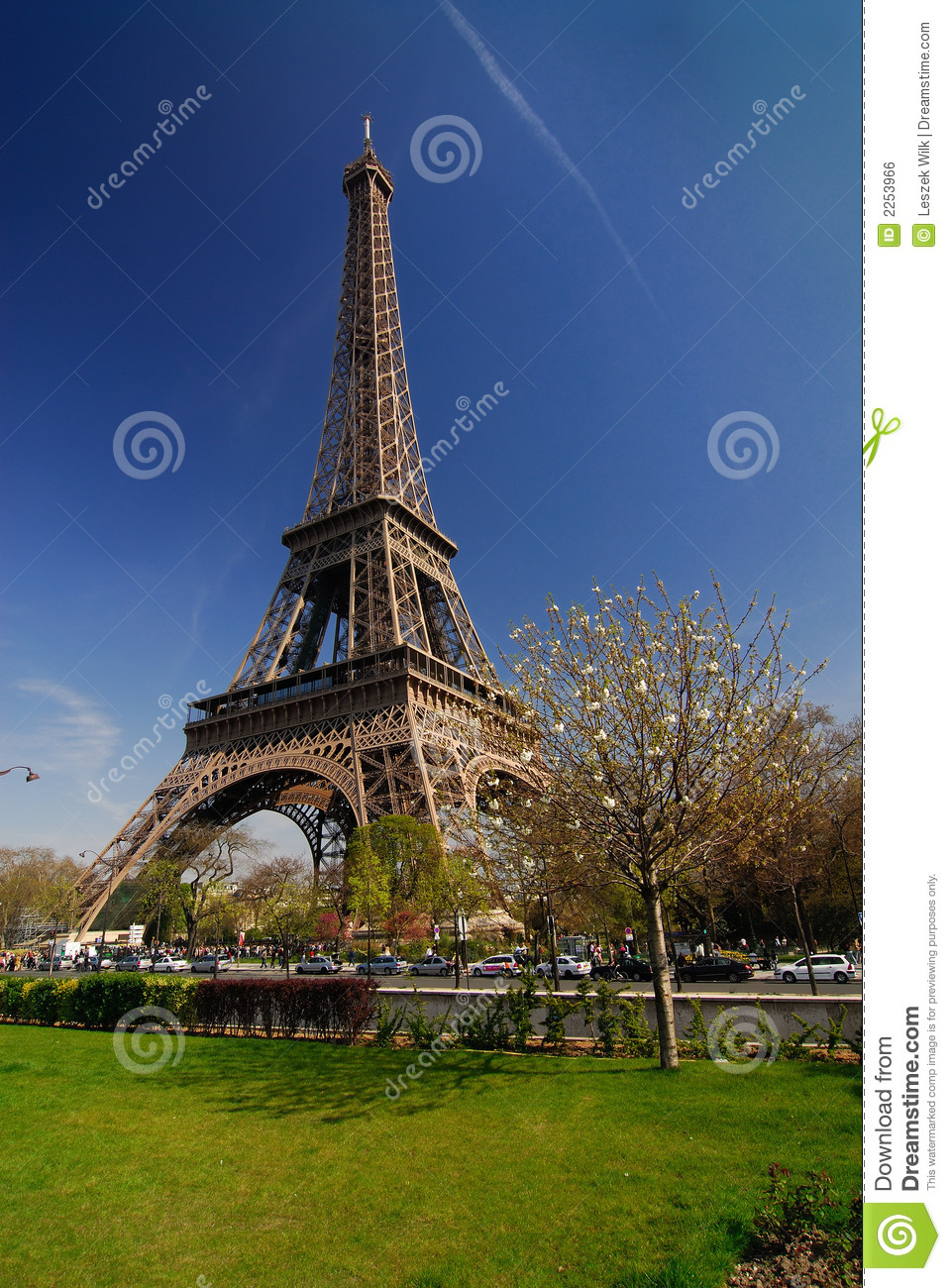 paris tour eiffel royalty free stock image image 2253966. Black Bedroom Furniture Sets. Home Design Ideas