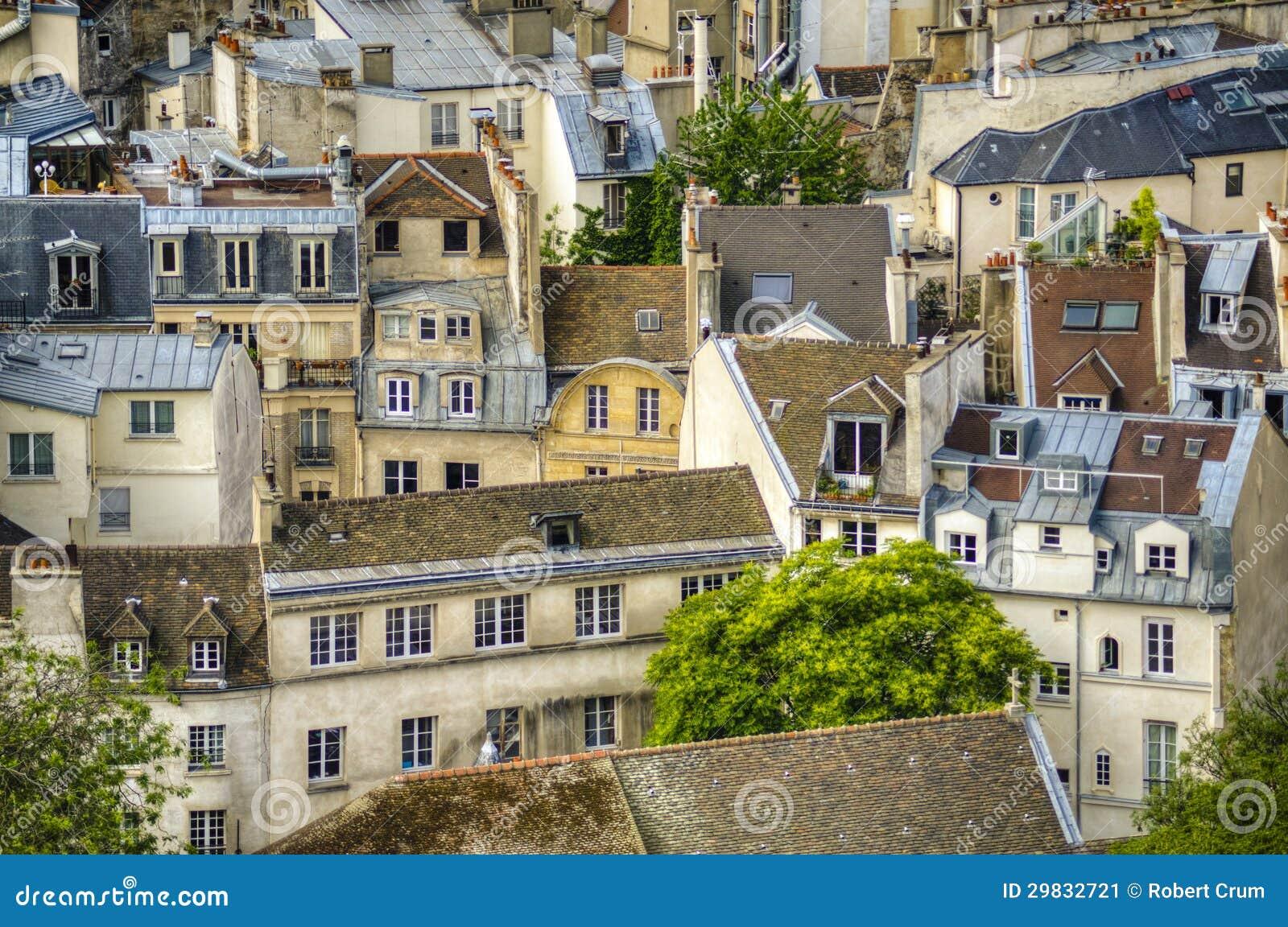 Paris vista de cima de