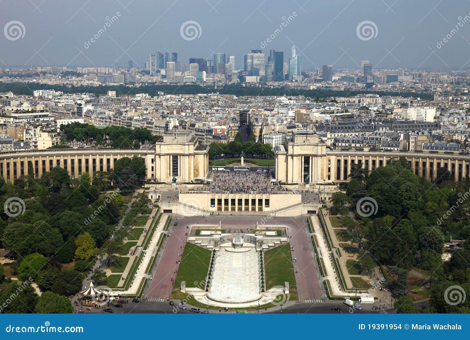 Paris, vue de tour d Eifell