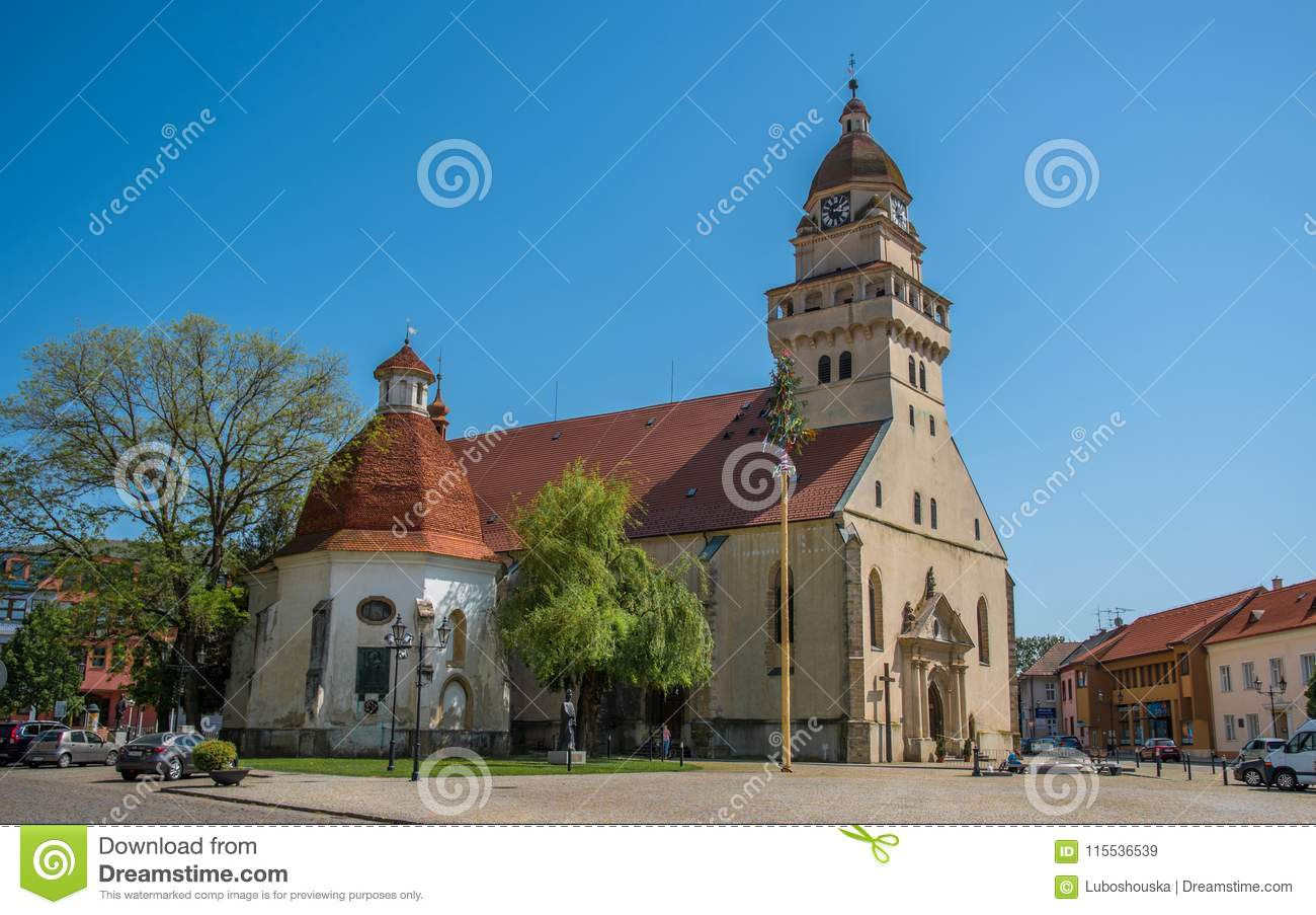 Parish Church St. Michael and Chapel of St Ann, Skalica, Slovakia