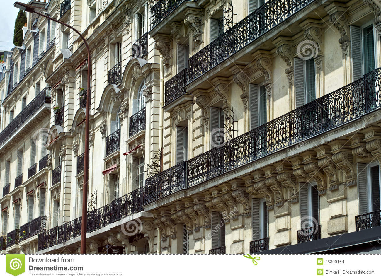 Parisian architecture royalty free stock photography for B isdn architecture