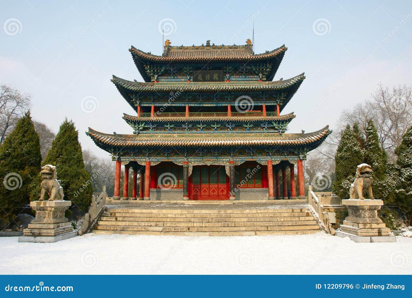 Park ancient building