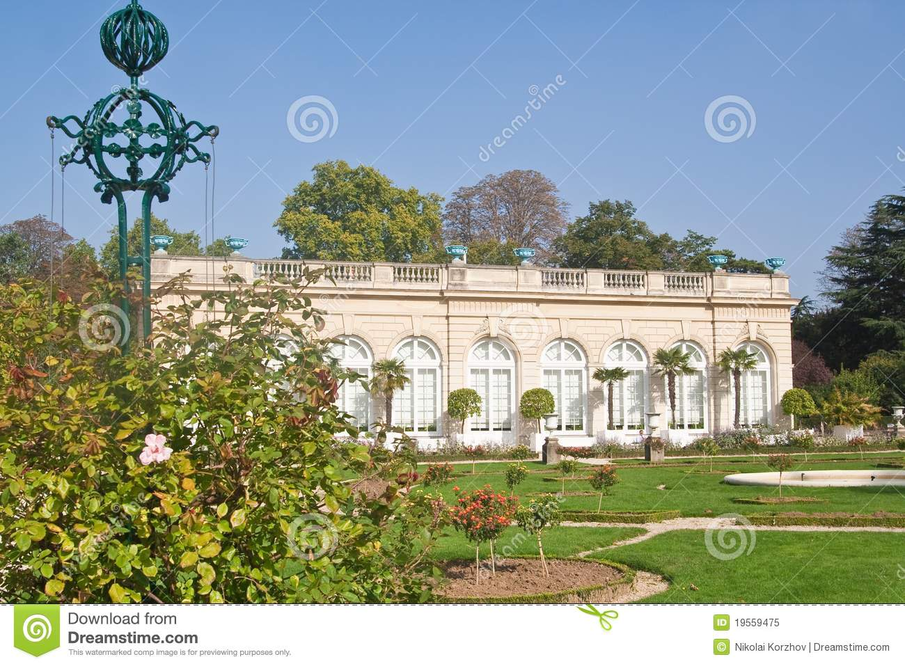 Park Bagatelle In The Bois De Boulogne In Paris Royalty  ~ Bois De Boulogne Parc