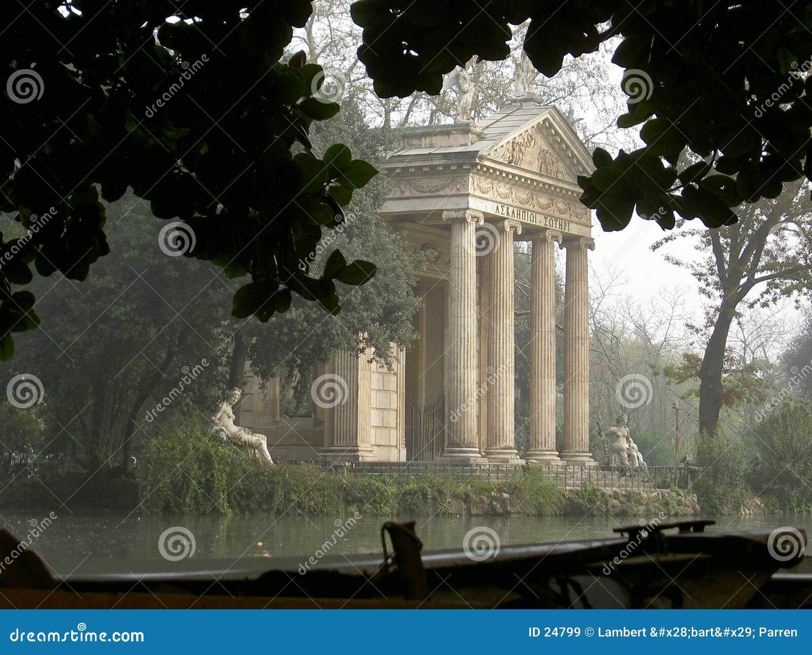 Park borghia Rzymu