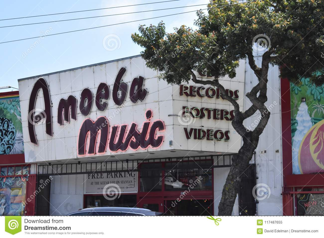 From Park Bowl alley to Amoeba Music, 1.