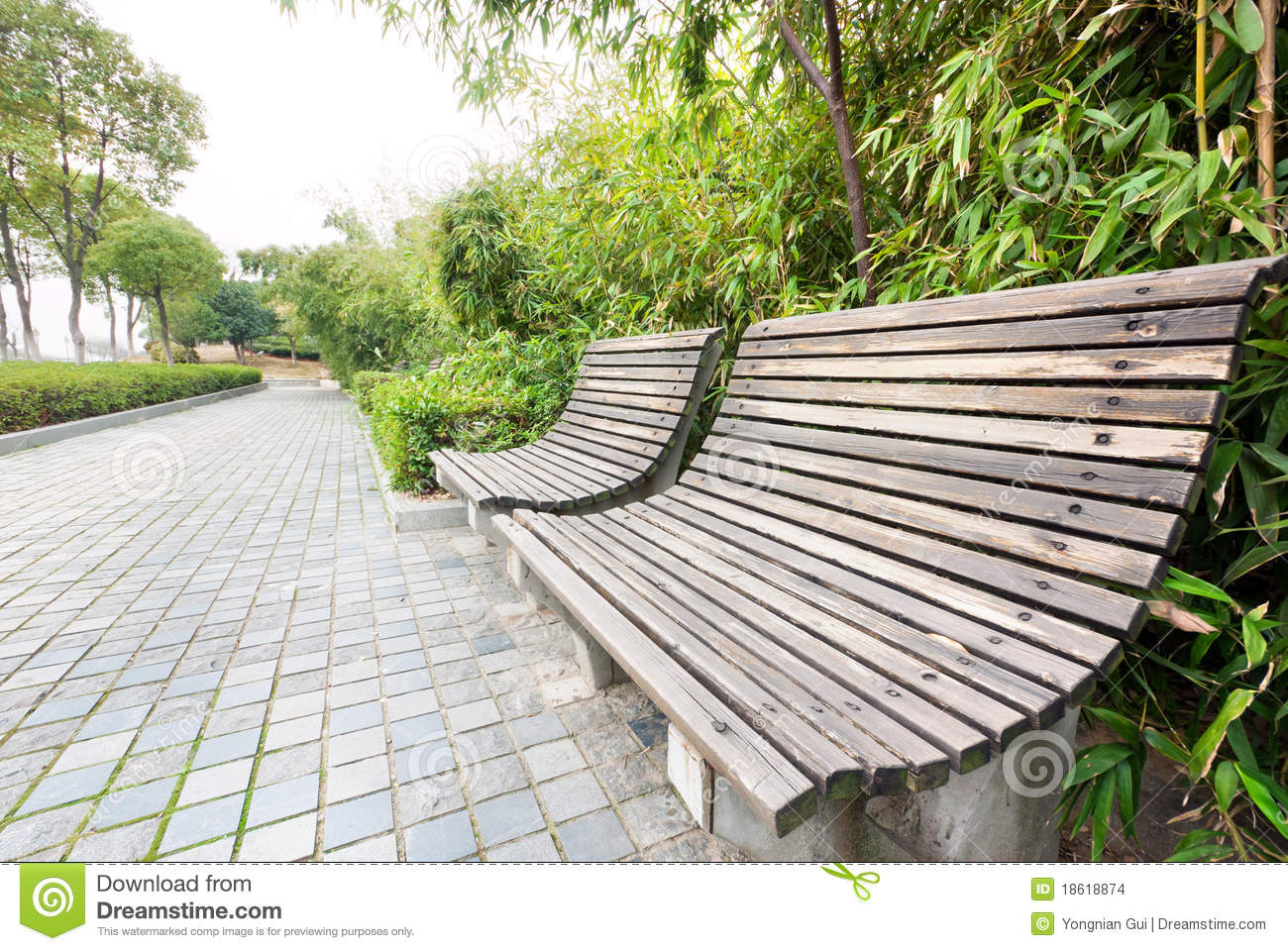 Park Chair Stock Images - Image: 18618874