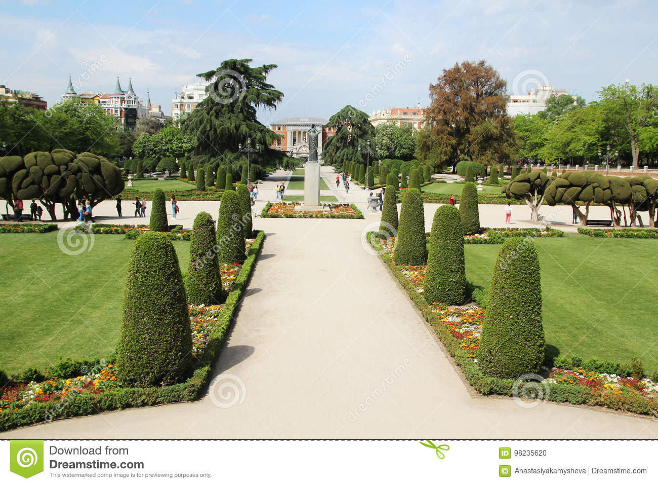 Park De El Retiro, Madrid, Spain