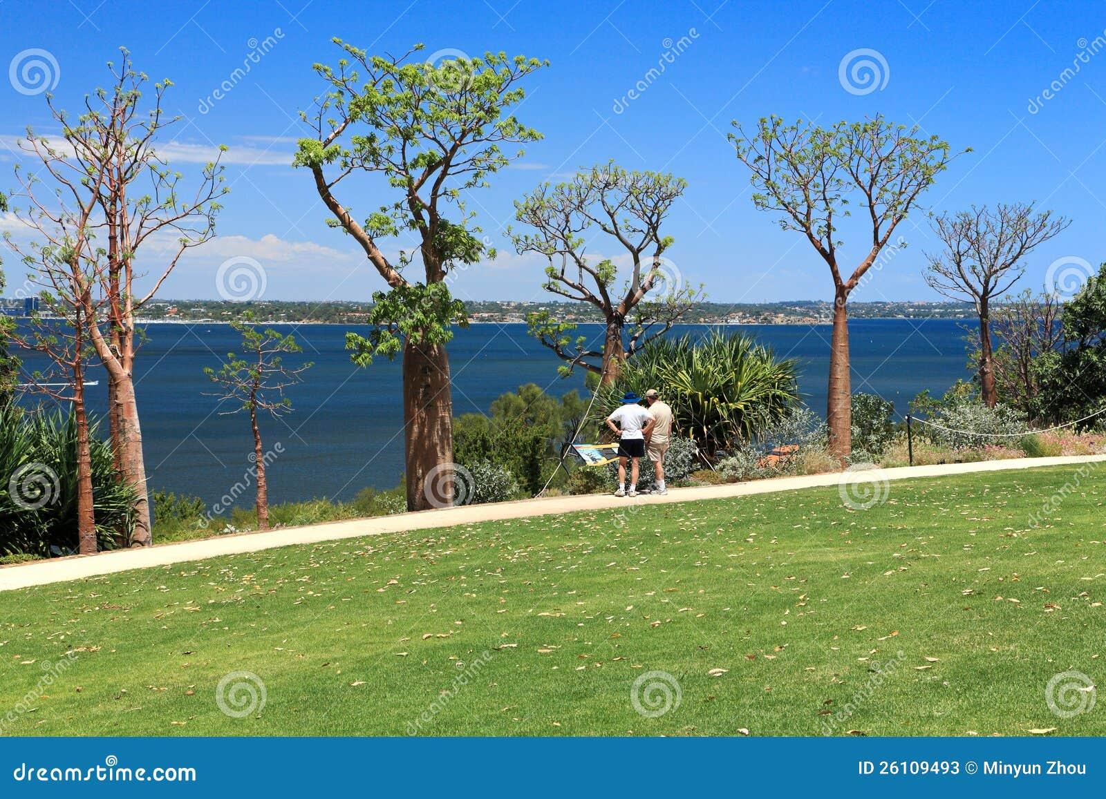 Park del re a Perth, Australia occidentale Fotografia Stock Editoriale