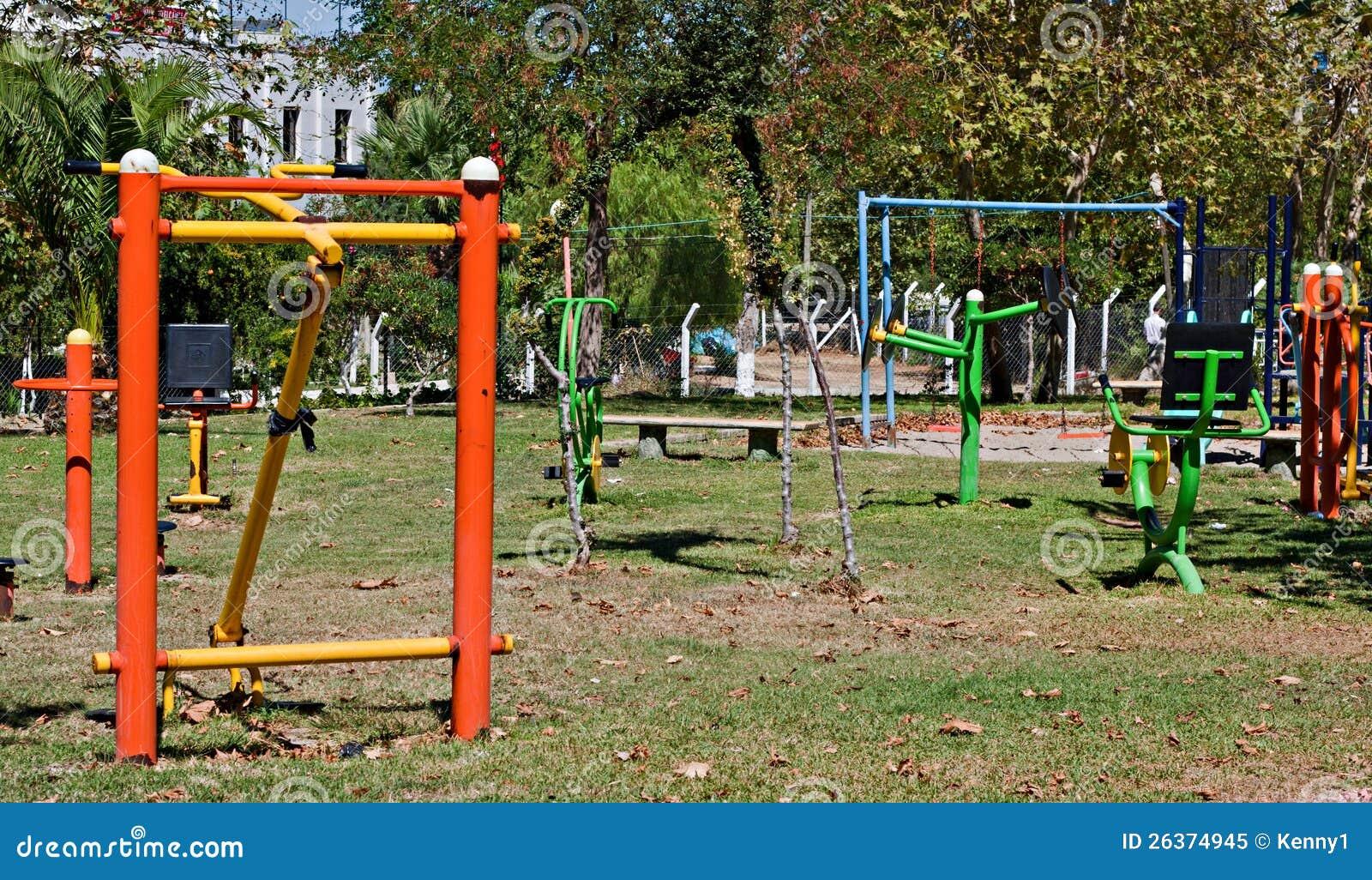 Park der Übungsausrüstung öffentlich