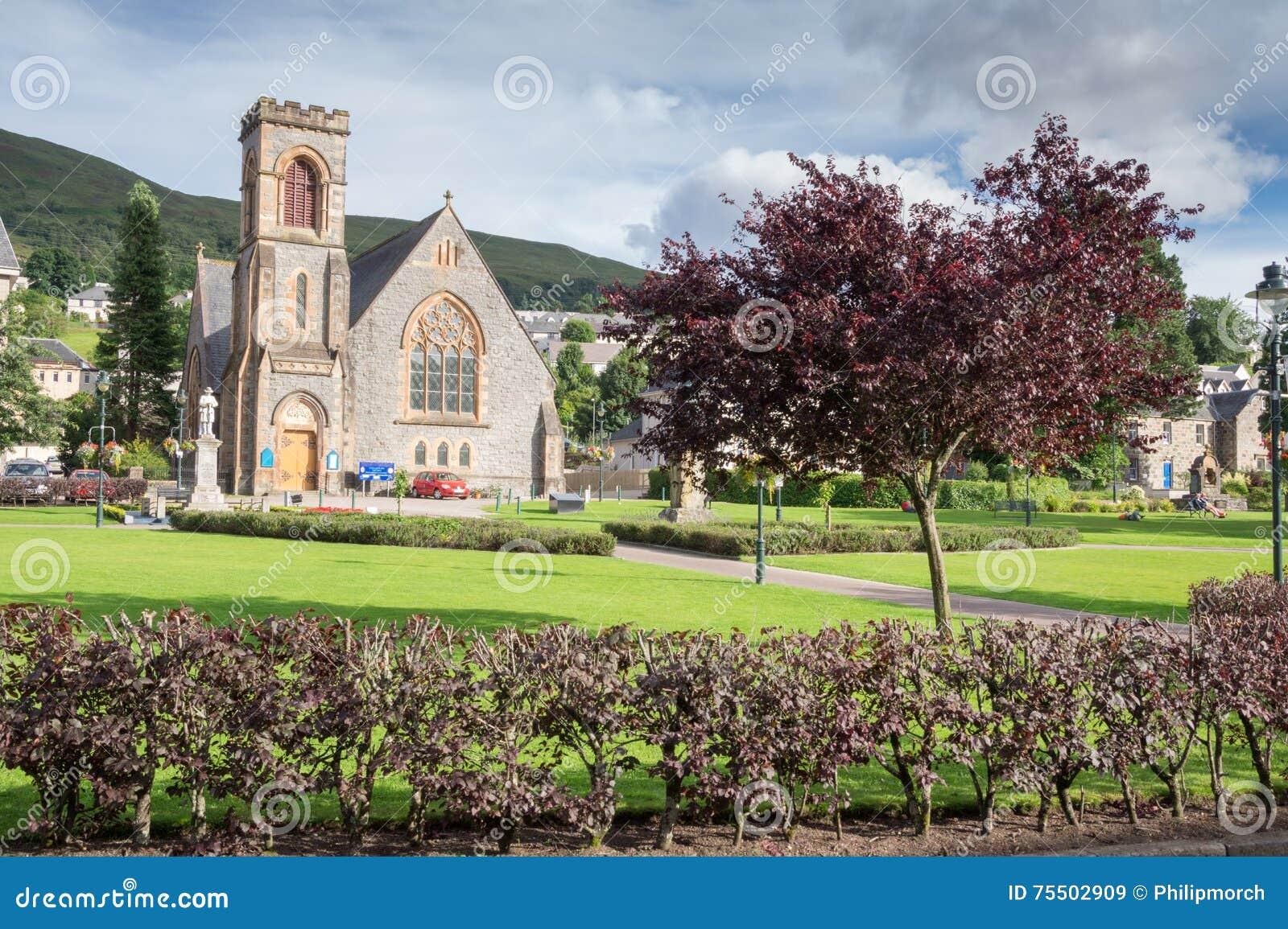 Park in Fort William, Scotland