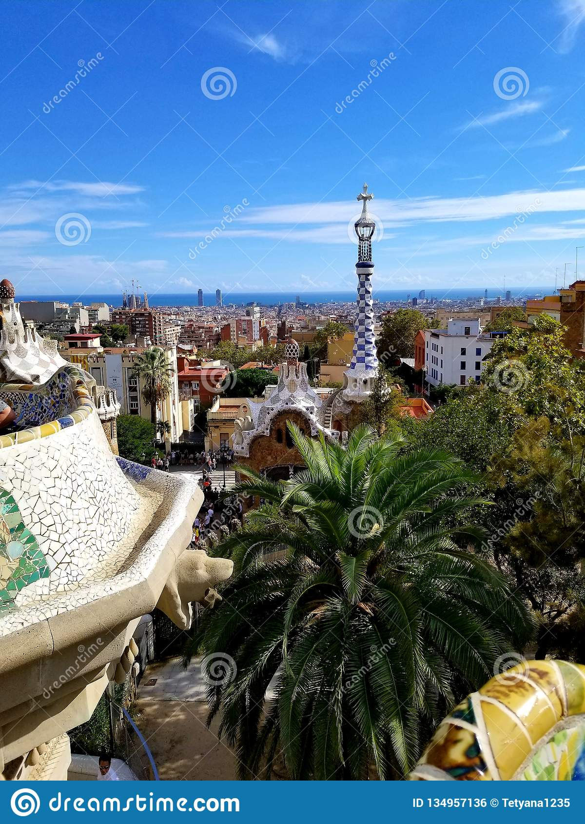 Park Guell Barcelona - stunning views!