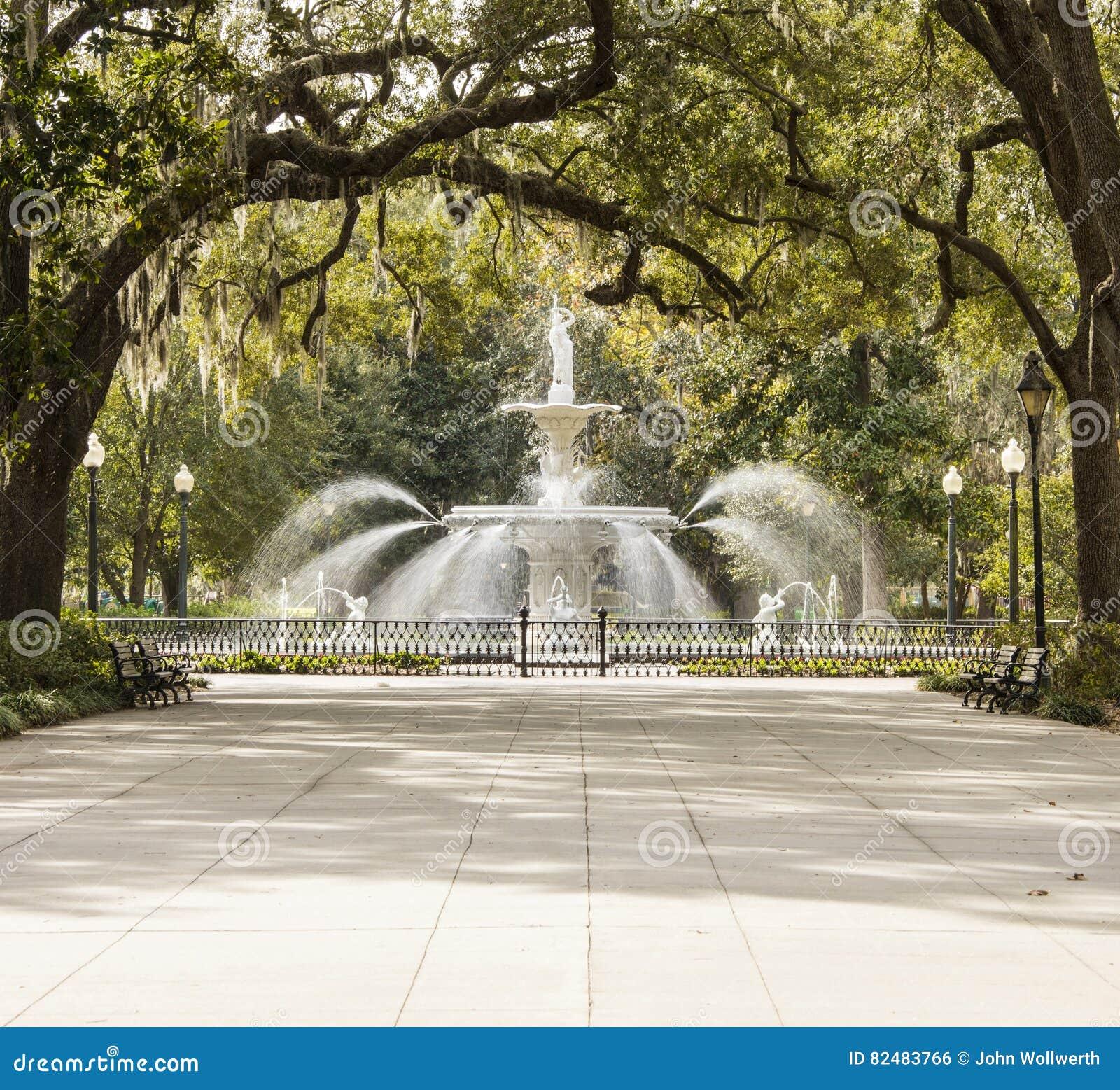 Park in Savannah, Georgia