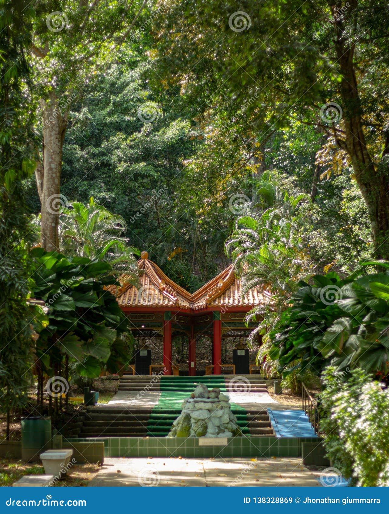 Park van de Panamese Chinese vriendschap