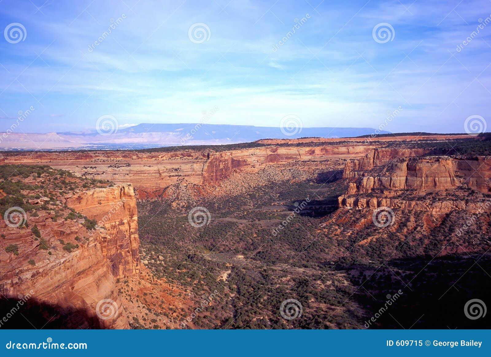Park van het Monument van Colorado het Nationale