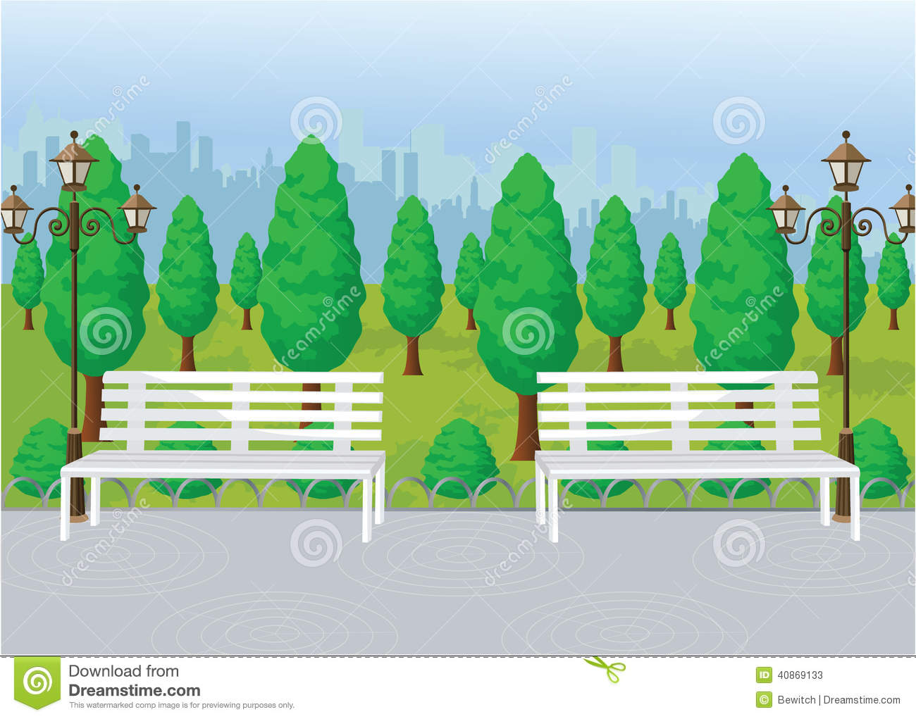 city park vector - photo #20