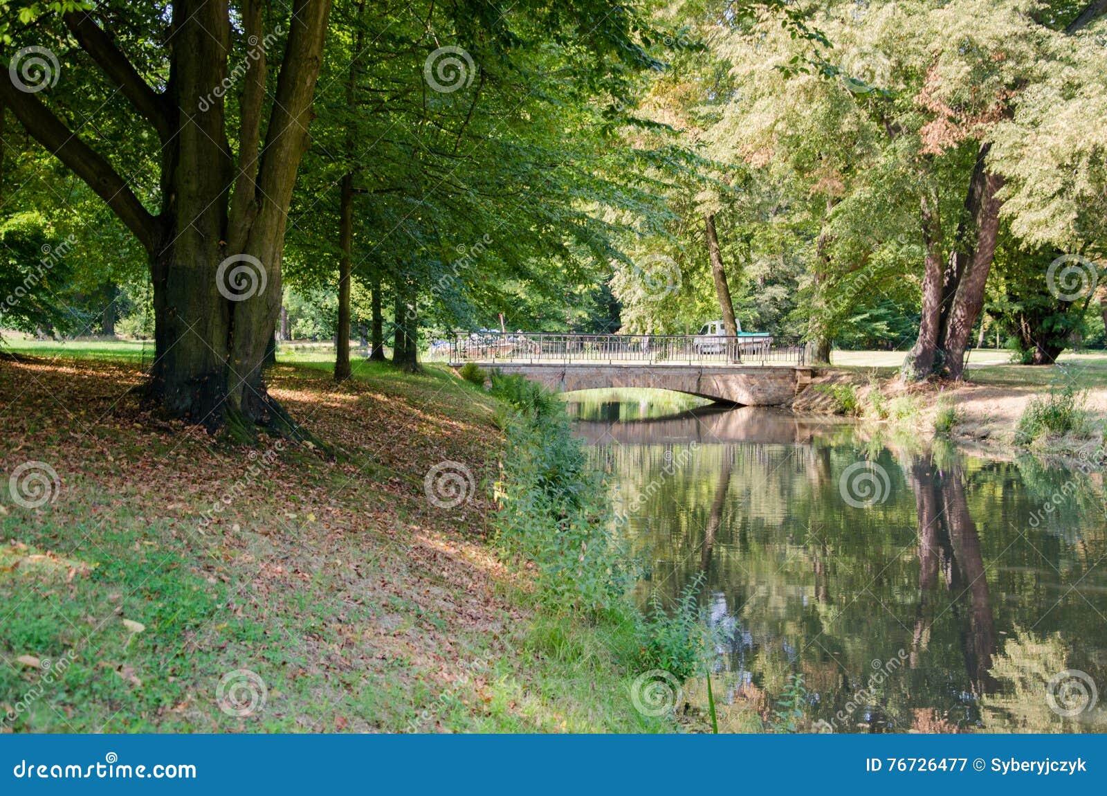 Park von Muskau, Muskauer Park lub Fürst-Pückler-Park, Park Mużakowski