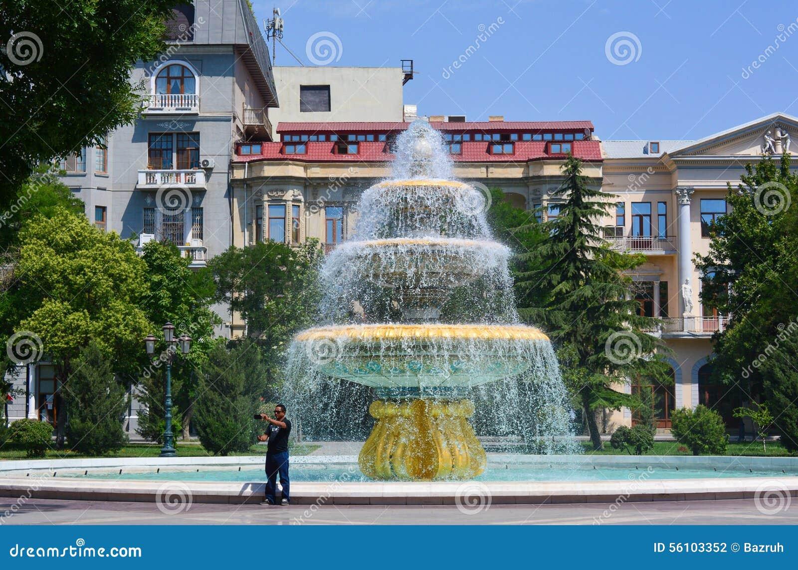 Parkenpf Baku stad