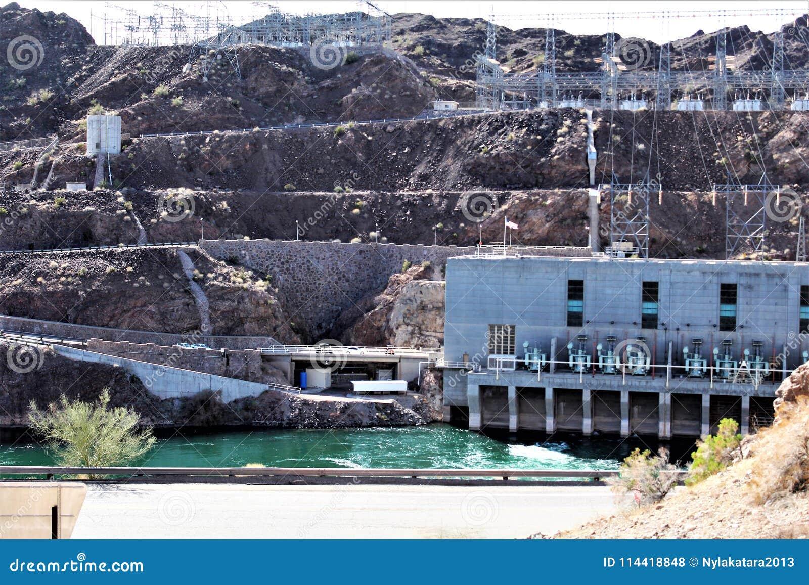 Parker Dam, Parker, o Arizona, La Paz County, Estados Unidos