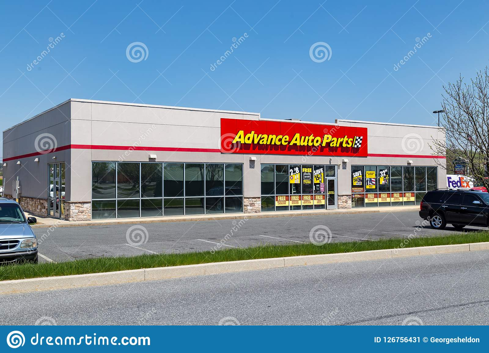 Advance Auto Parts Editorial Photo Image Of Battery 126756431