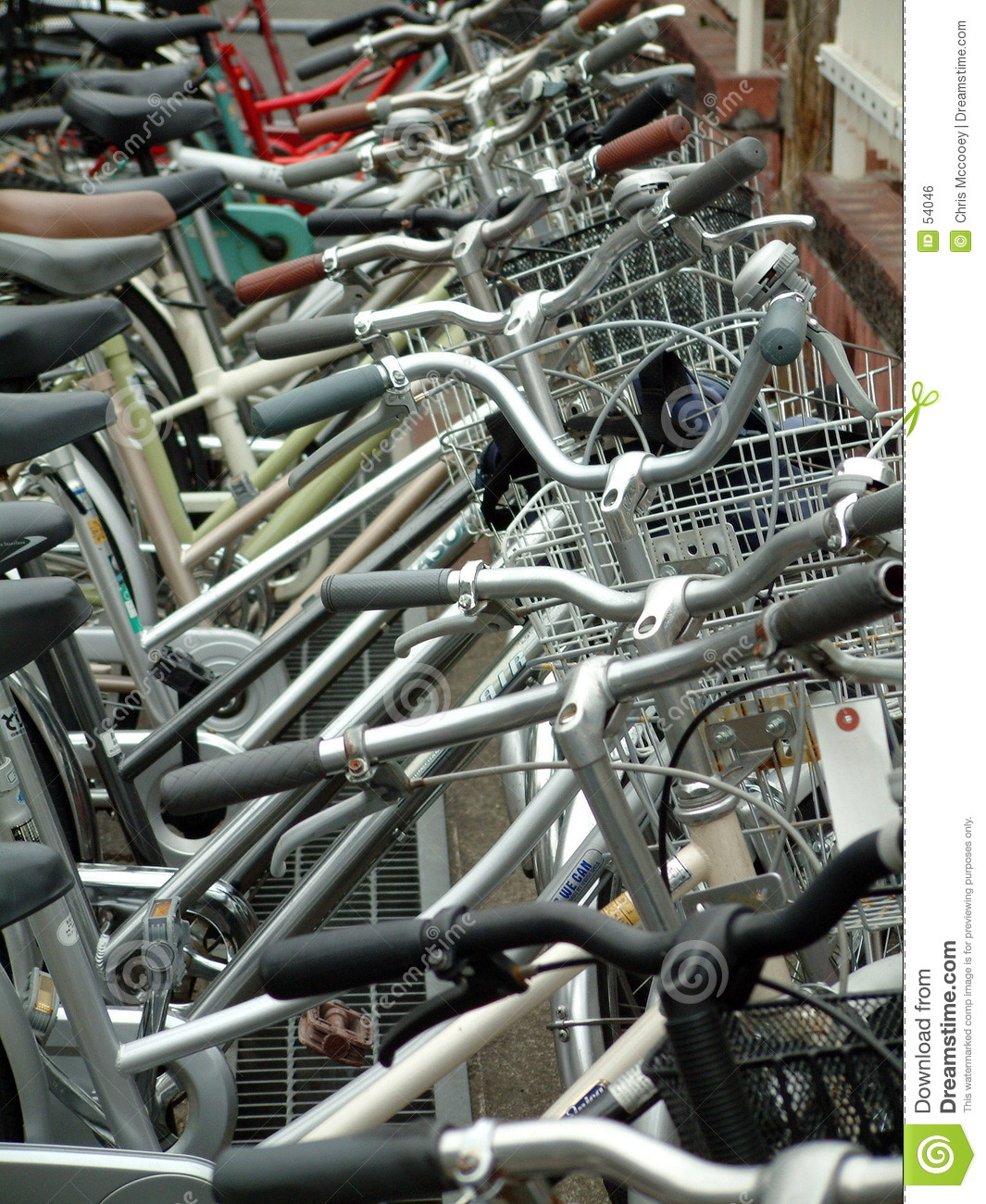 Parking de bicyclette.