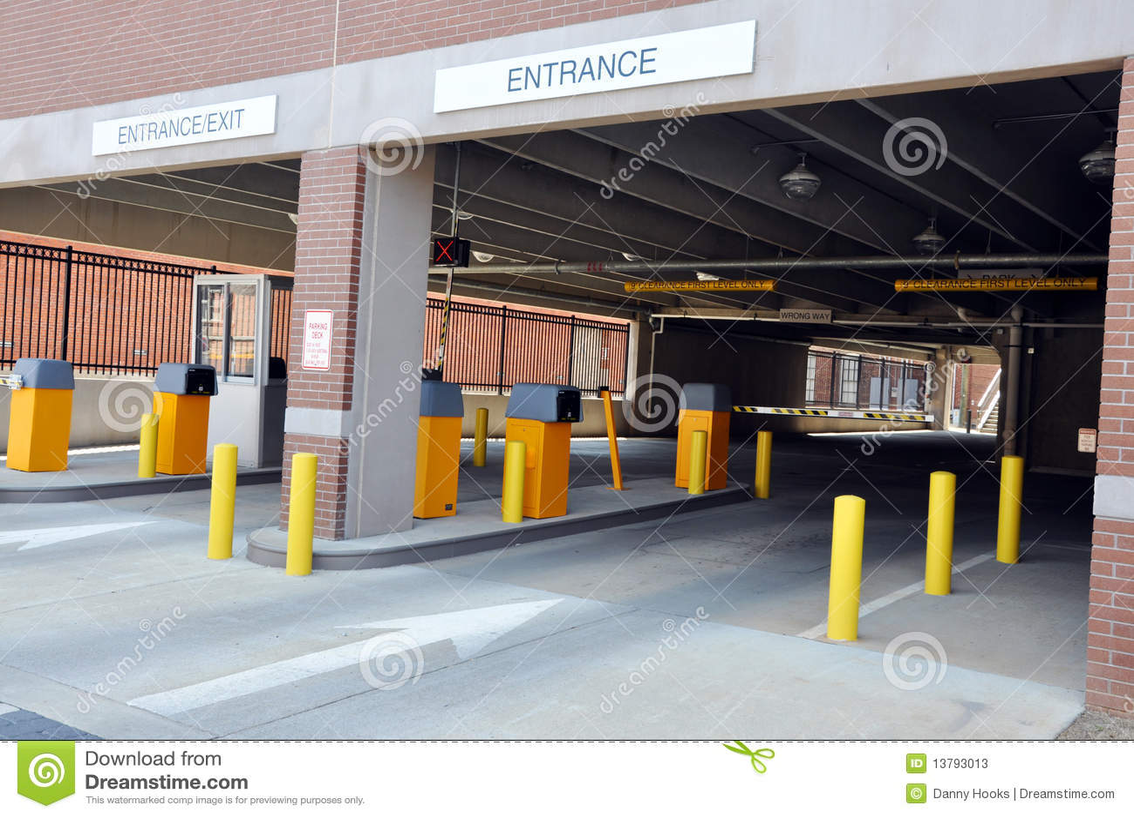Parking Deck Stock Photos - Image: 13793013