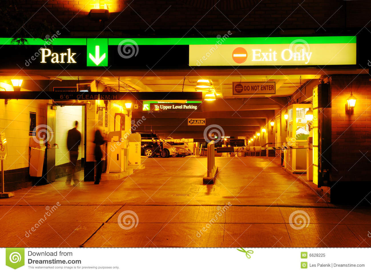 Parking Garage Royalty Free Stock Photo Image 6628225