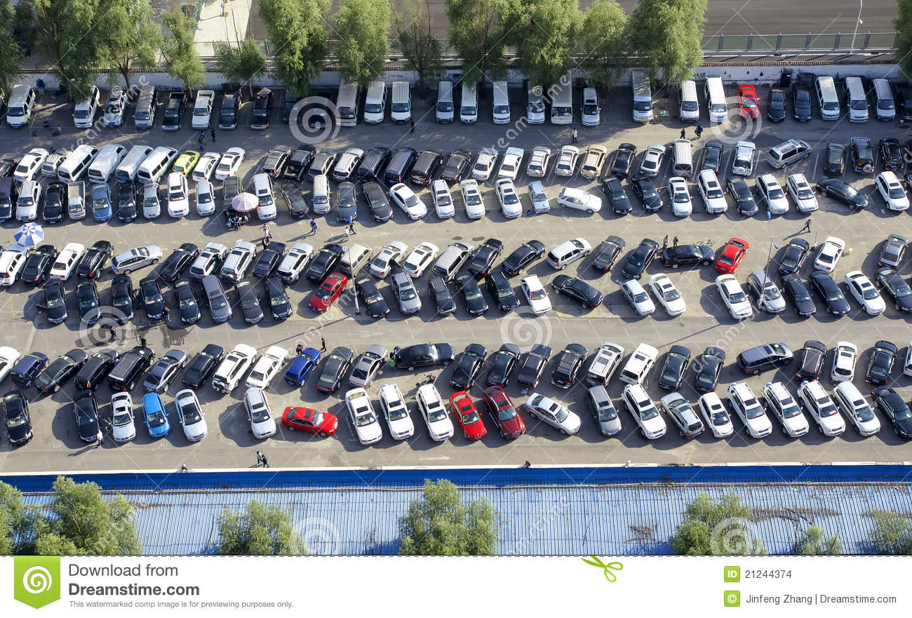 Parking Lot Stock Images - Image: 21244374