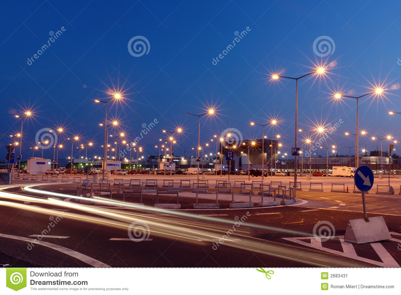 Parking lot lights stock image image of trail bend circle 2683431 parking lot lights aloadofball